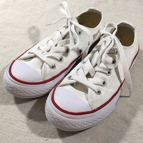 75f4a4c5bbfe3a Converse Other - Kids Sz 12 Creamy White Converse All Star Sneakers